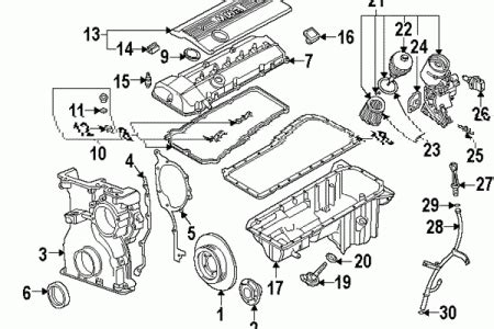 2002 Bmw 325i Engine Diagram by 2003 Bmw 325i Engine Diagram Automotive Parts Diagram Images