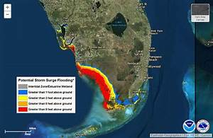 What Is Storm Surge  Areas In Florida Affected By
