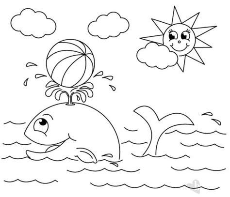 disegni da stare sole e balena e sole disegno da colorare bimbi sani e belli