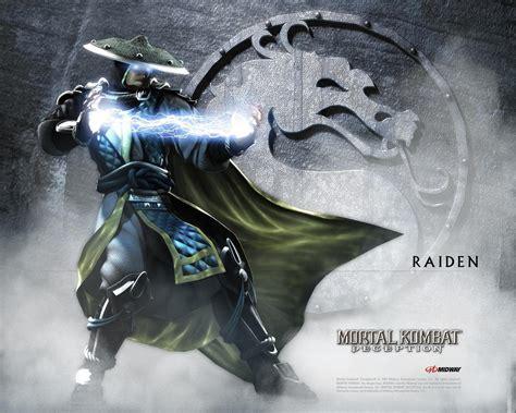 Raiden Mortal Kombat Wallpaper 9467424 Fanpop