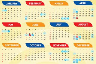 check holidays long weekends calendar deped lps