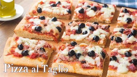 Pizza Soffice Fatta In Casa by Pizza Al Taglio Alta E Soffice Fatta In Casa Ricetta