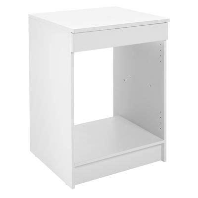 cuisine primalight meuble de cuisine bas four 60 cm blanc primalight 3