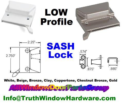 semco bilt  marvin casement window sash lock parts truth window hardware