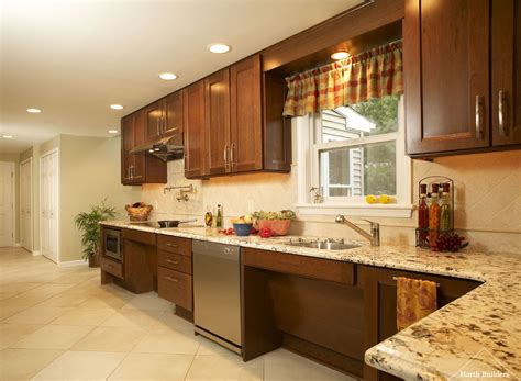 Lansdale ADA Kitchen and Bathroom  Harth Builders