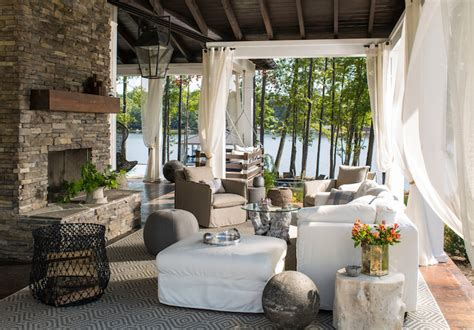 boat dock converted to lounge country deck patio