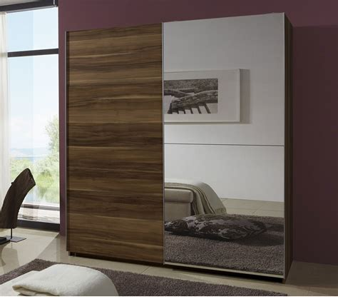 Modern Wardrobe With Mirror Designs For Bedroom   www