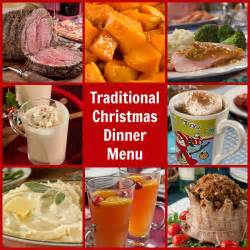 christmas dinner food traditional christmas dinner menu mrfood com