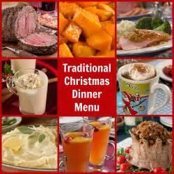 It also has vegetables like carrot, parsnips, etc. Traditional Christmas Dinner Menu | MrFood.com