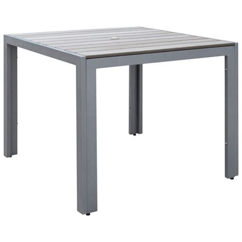 Buy Outdoor Table by Gallant Contemporary 4 Seating Square Outdoor Dining Table