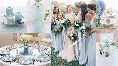 top 5 color theme for wedding