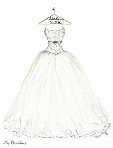 drawn wedding dress sketch pencil and in color drawn With wedding dress drawing