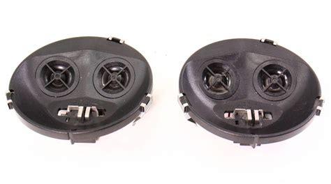 front dash speakers   vw jetta golf gti mk cabrio genuine