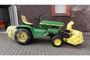 John Deere Kleintraktor : john deere 110 mit schneefr se in sch mberg traktoren ~ Kayakingforconservation.com Haus und Dekorationen