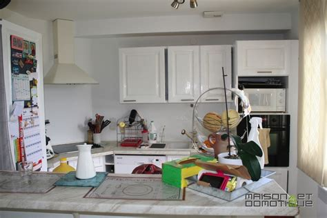domotique cuisine customisation de la cuisine pour la rajeunir un peu