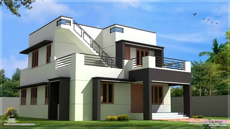 modern home blueprints modern house design in 1700 sq kerala home design