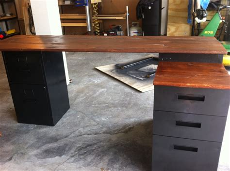 Diy Corner Desk With File Cabinets by Woodwork Diy File Cabinet Plans Pdf Plans