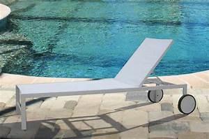 bain de soleil en alu gris et blanc walter zd1 ch lon d With porte d entrée alu avec miroir grossissant articulé salle bain