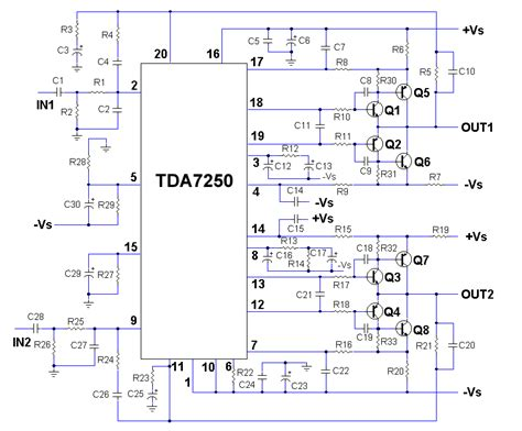 Superb Power Amplifier Using Tda Another Electronics