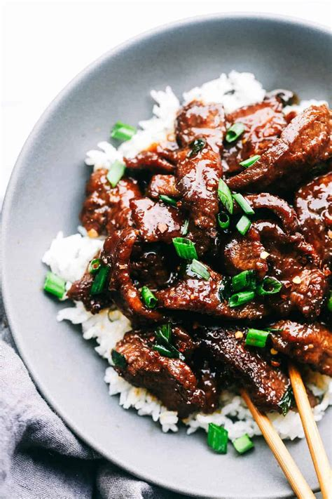 easy mongolian beef tastes just like p f changs the recipe critic