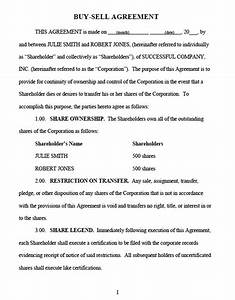 download sample buy sell agreement 3 for free tidyform With buy sell agreements templates