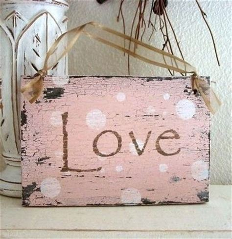how to make shabby chic signs love 9 x 5 shabby cottage pink valentines day signs vintage ways to make it home juxtapost