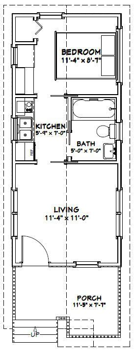 one bedroom cabin plans 12x28 1 bedroom house 12x28h1c 336 sq ft 16553 | 239d2ca632e3b13ed1cdbf8f0c635939