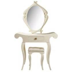Coiffeuse Pour Chambre : coiffeuse en bois ivoire l 90 cm baroque maisons du monde ~ Teatrodelosmanantiales.com Idées de Décoration