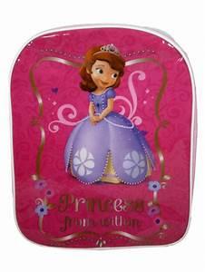 princesse sofia sac a dos cartable pour maternelle With affiche chambre bébé avec sac à dos fleuri