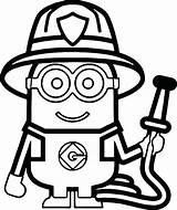 Coloring Printable Firefighter Fireman Sam Getcolorings sketch template