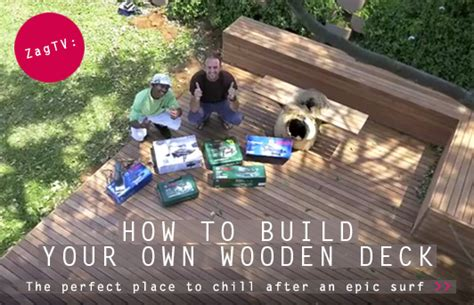 who owns the deck company how to build your own deck we make it sic zigzag magazine