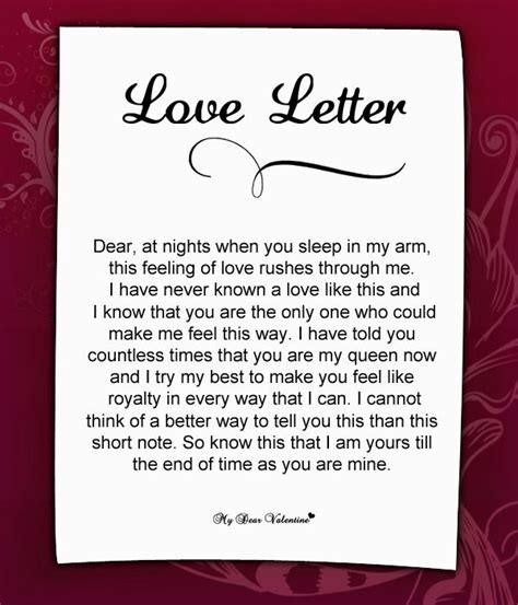 love letter     love quotes