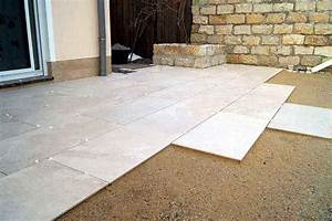 Terrassenplatten Verlegen Auf Splitt : drainageverlegung terrassenplatten eska drain drainestrich ~ Michelbontemps.com Haus und Dekorationen