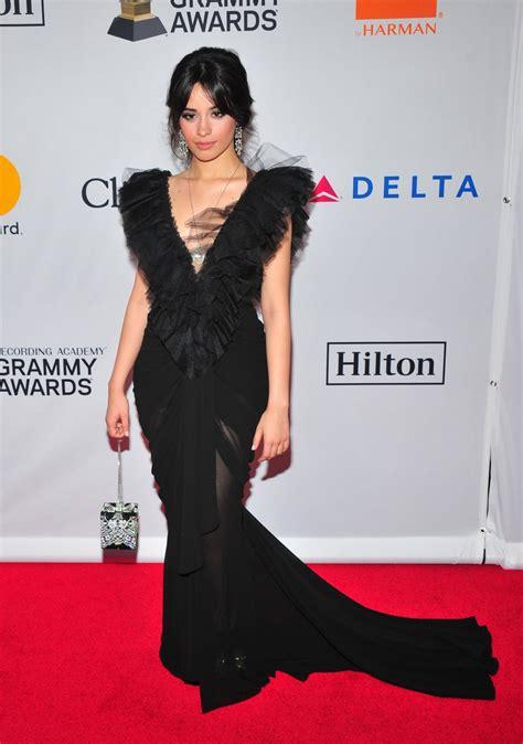 Camila Cabello Clive Davis Recording Academy Pre