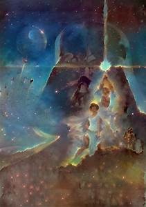 A New Hope in the style of Pillars of Creation | Rebrn.com
