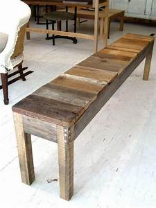 How To Make A Bench Out Of Barn Wood