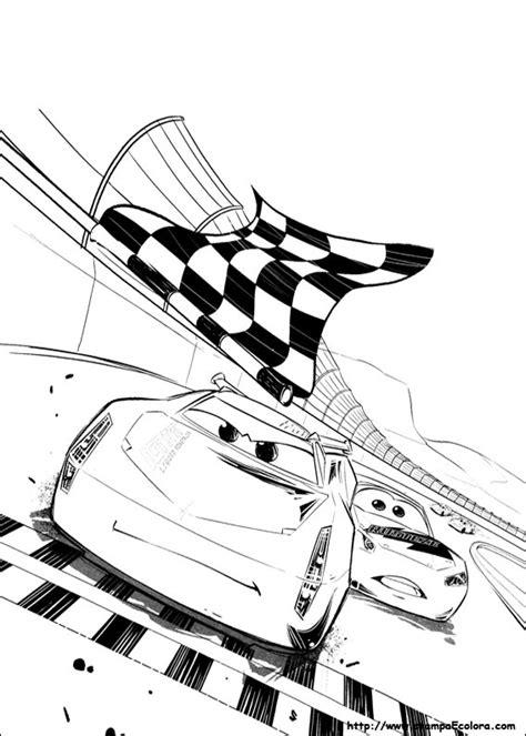 cars 3 disegni da colorare disegni de cars 3