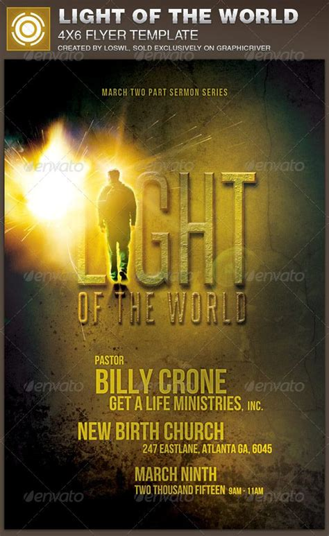the light of the world church 28 best church brochure images on pinterest print