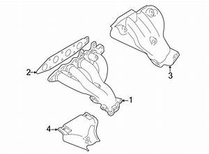 Chevrolet Tracker Exhaust Manifold Heat Shield  California
