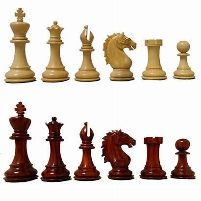 Chess Caissa Crimson Rosewood Staunton Antiquities Pieces