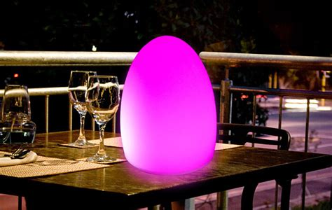 wireless outdoor led table l modern outdoor table