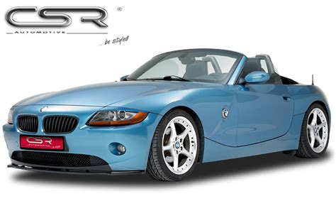 Front Lip Diffuser Bumper Splitter Extension For Bmw Z4