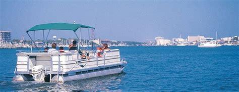 Pontoon Boat Destin Fl by Pontoon Boat Rentals Destin Parasailing Destin Florida