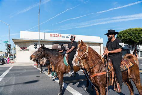 comptons black cowboys ride  reclaim  legacy