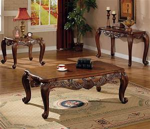 traditional occasional coffee cocktail end table set coaster With coffee table end table sofa table set