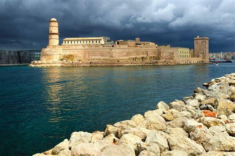 Pavillon Am Alten Hafen Marseille by Bilder Festung Jean In Marseille Frankreich