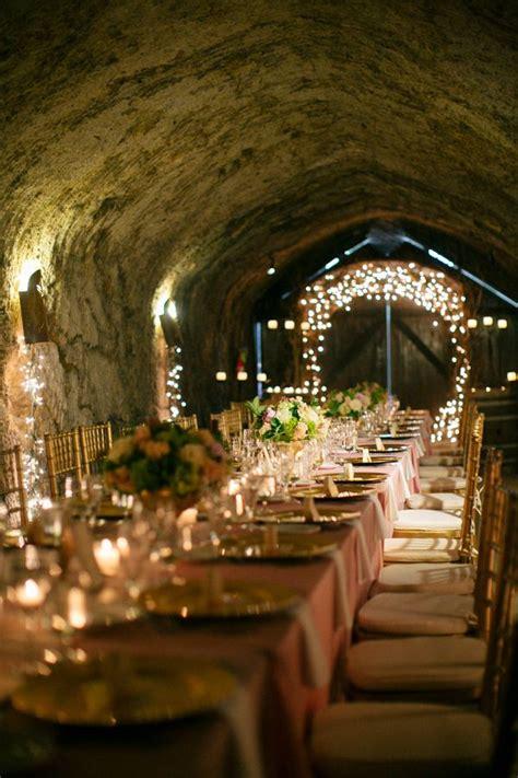 elegant vineyard wedding  pink  gold unique wedding