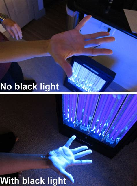 invisible ink black light invisible ink with and without