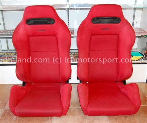 sieges recaro used jdm honda dc2 integra type r recaro seats sold