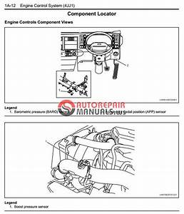 Isuzu 2008my N Series Engine Control System 4jj1 Model